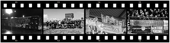 Bild: Filmstreifen mit Aufnahmen aus der Gruppengeschichte