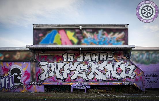 Bild: Graffiti 15 Jahre INFERNO