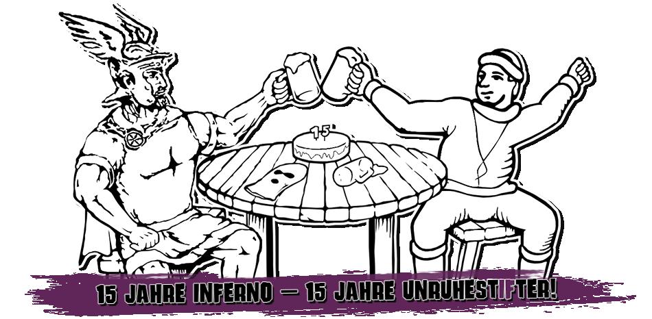 Bild: Inferno Osnabrück - 15 Jahre UnruhestIFter